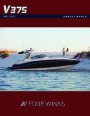 2001 Four Winns V375 Boat Owners Manual page 1