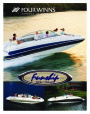 2001 Four Winns Funship 214 234 264 Boat Owners Manual page 1