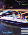 2002 Four Winns Funship 214 234 254 Boat Owners Manual page 1