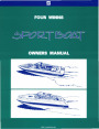1995-1997 Four Winns Freedom Horizon Candia Sundowner Sport Boat Owners Manual page 1