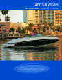 2003-2008 Four Winns Sundowner 205 225 245 285 Boat Owners Manual page 1