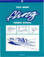 1994 Four Winns Fling Boat Service Owners Manual page 1